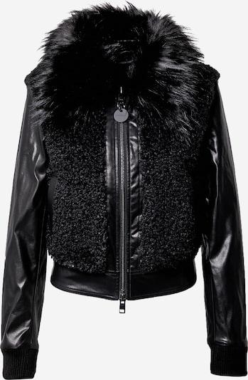DIESEL Prijelazna jakna 'LEDA' u crna: Prednji pogled
