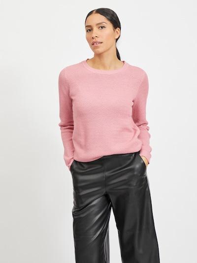 VILA Pull-over 'VICHASSA' en rose, Vue avec modèle
