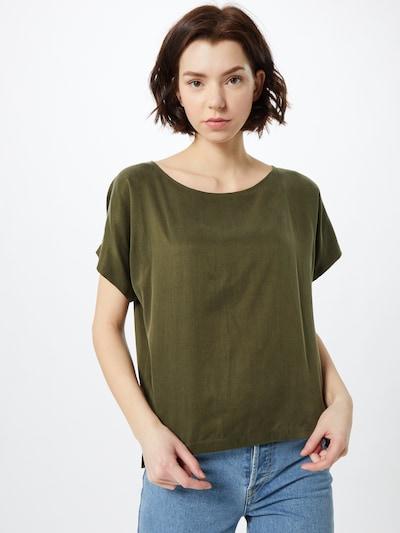 DRYKORN Bluse 'SOMIA' in grün, Modelansicht
