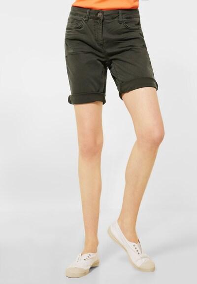 CECIL Shorts in dunkelgrün, Modelansicht
