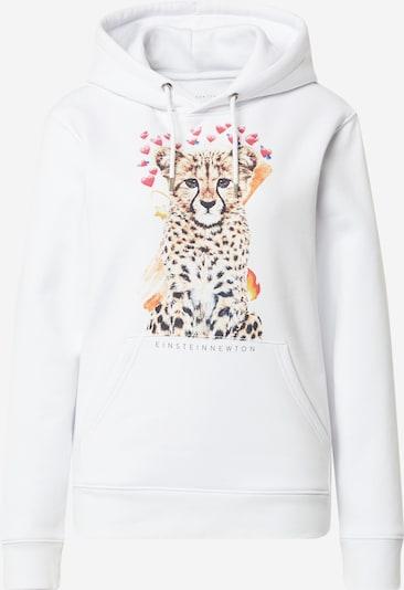 EINSTEIN & NEWTON Sweat-shirt 'Leo Emoji Brun Hilde' en marron / rose / noir / blanc, Vue avec produit