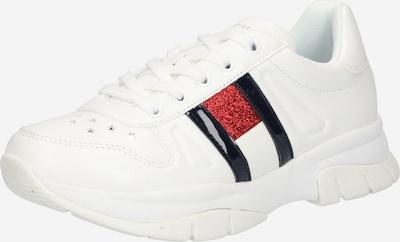 TOMMY HILFIGER Baskets en rouge / noir / blanc, Vue avec produit