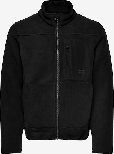 Only & Sons Flis jakna 'HIKE' u crna, Pregled proizvoda