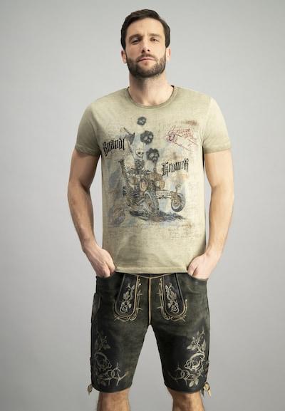 STOCKERPOINT Klederdracht shirt in de kleur Beige: Vooraanzicht