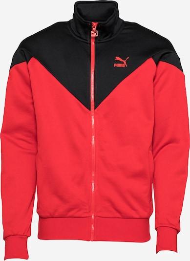 PUMA Sportiska jaka sarkans / melns, Preces skats