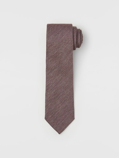 J.Lindeberg Krawatte in dunkelpink, Produktansicht