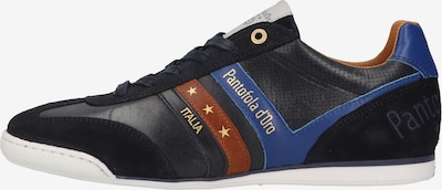 PANTOFOLA D'ORO Sneakers low in blue / brown, Item view