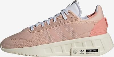 Sneaker low ADIDAS ORIGINALS pe roz pal / alb, Vizualizare produs