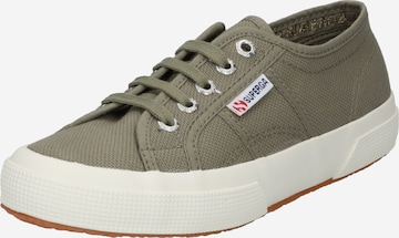 Sneaker low 'Cotu' de la SUPERGA pe verde