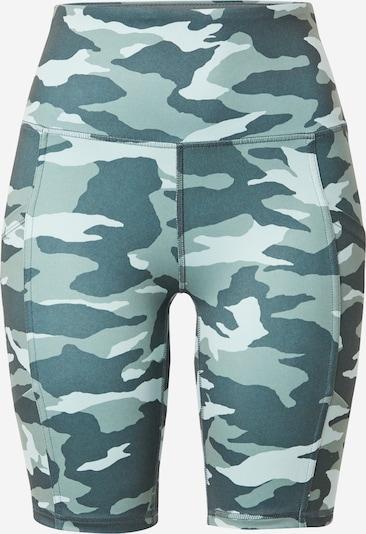 Marika Sportske hlače 'BRENDA 9' u petrol / pastelno zelena / bijela, Pregled proizvoda