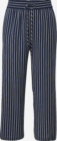 JDY Pantalon 'STARR' en bleu marine / blanc, Vue avec produit