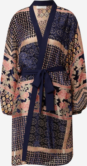 Guido Maria Kretschmer Collection Kimono 'Duffy Kimono' en azul / mezcla de colores / rojo, Vista del producto
