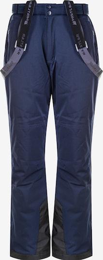 Whistler Skihose 'GIPPSLANG' in dunkelblau / schwarz, Produktansicht