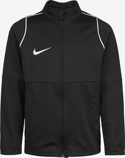 NIKE Trainingsjacke 'Park 20' in schwarz / weiß, Produktansicht