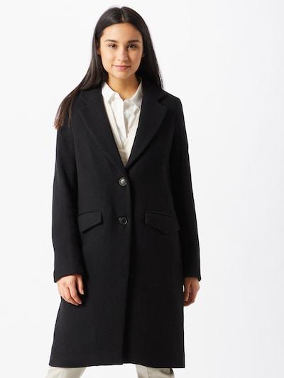 mbym Mantel 'Shugga' in schwarz, Modelansicht