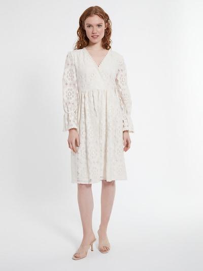 Ana Alcazar Kleid ' Danice ' in naturweiß, Modelansicht