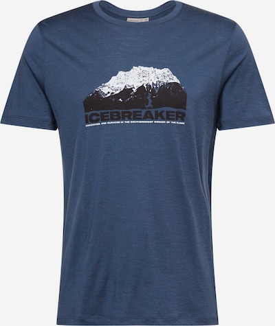 Icebreaker Sporta krekls ultramarīnzils / tumši zils / balts, Preces skats
