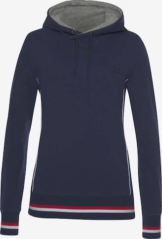 HIS JEANS Sweatshirt in Blue