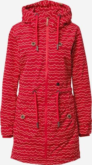 Alife and Kickin Parka przejściowa 'Charlotte' w kolorze ognisto-czerwony / czarny / białym, Podgląd produktu