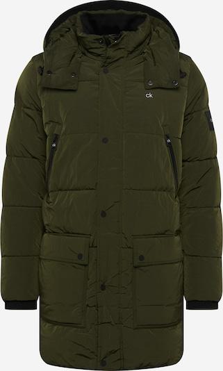 Calvin Klein Winterjas in de kleur Olijfgroen, Productweergave