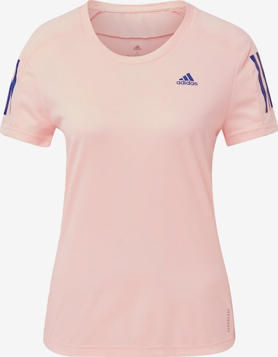 ADIDAS PERFORMANCE T-Shirt 'Own the Run' in blau / rosa, Produktansicht