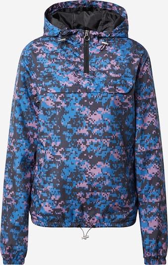 Urban Classics Jacke in blau / lila / schwarz, Produktansicht