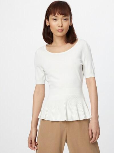 HUGO Shirt 'Sharmain' in weiß: Frontalansicht