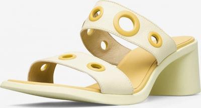CAMPER Sandalen ' Meda ' in goldgelb, Produktansicht