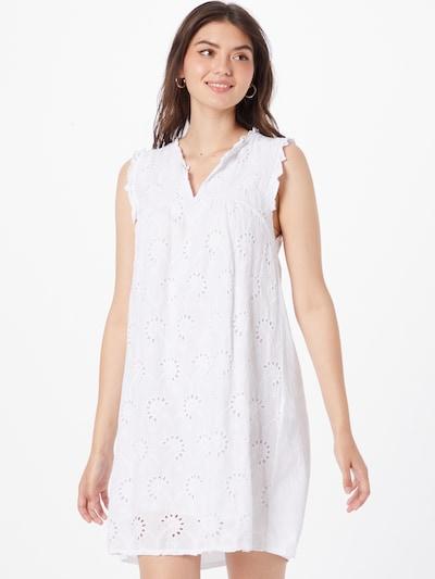 Rochie de vară 'Danna' Hailys pe alb, Vizualizare model