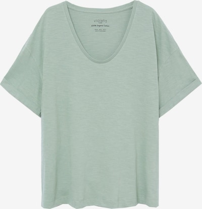 VIOLETA by Mango Shirt 'Yuzu8' in de kleur Lichtgroen, Productweergave