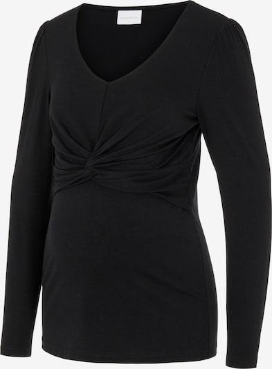 MAMALICIOUS Shirt 'Macy' in schwarz, Produktansicht