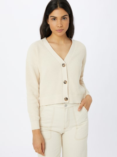 SELECTED FEMME Knit cardigan in Cream, View model
