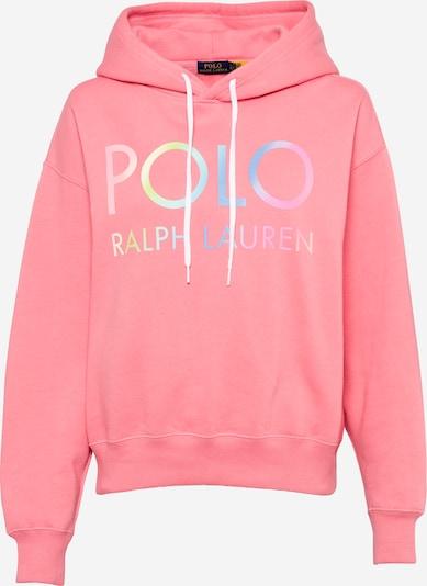 POLO RALPH LAUREN Mikina - svetlomodrá / svetlozelená / staroružová / svetloružová, Produkt