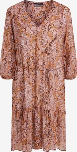 SET Robe-chemise en orchidée / rose ancienne / bourgogne / rouge orangé / blanc, Vue avec produit