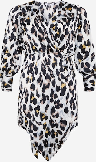 Missguided Plus Kleid in gelb / schwarz / weiß, Produktansicht