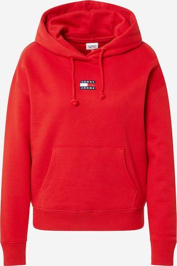 Tommy Jeans Sweatshirt i marinblå / röd / vit, Produktvy