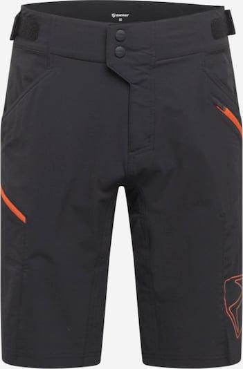 ZIENER Spodnie sportowe 'NEONUS' w kolorze pomarańczowy / czarnym, Podgląd produktu