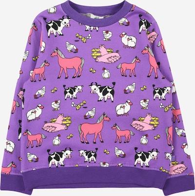 Småfolk Sweatshirt in lila / mischfarben, Produktansicht