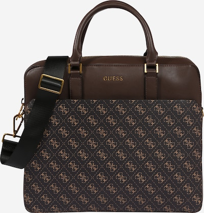 GUESS Document bag 'VEZZOLA' in dark brown, Item view