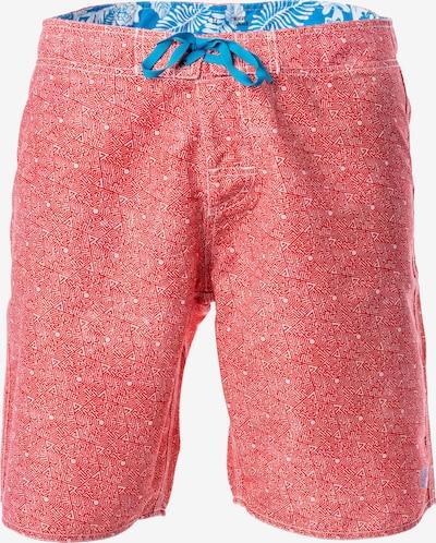 Panareha Badeshorts in blau / pink, Produktansicht