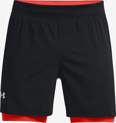 UNDER ARMOUR Sportbroek in de kleur Sinaasappel / Zwart / Wit, Productweergave