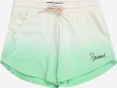 Pantaloni 'AUSTON' Raizzed pe verde limetă / alb, Vizualizare produs
