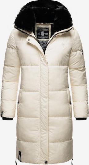 Palton de iarnă MARIKOO pe negru / alb, Vizualizare produs