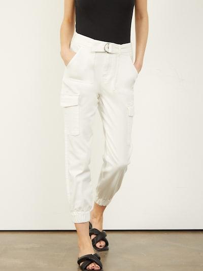 Aligne Hose 'Cache' in offwhite, Modelansicht