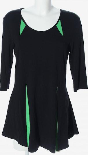 Doris Streich Stretchkleid in M in grün / schwarz, Produktansicht