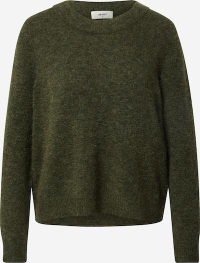 OBJECT Džemperis 'NETE', krāsa - tumši zaļš, Preces skats