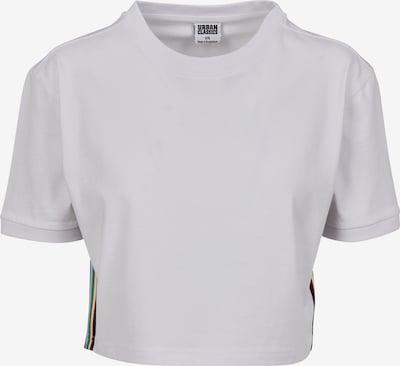 Urban Classics Majica u mornarsko plava / svijetložuta / svijetlosiva / vatreno crvena / bijela, Pregled proizvoda