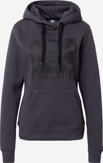 FC St. Pauli Sweat-shirt en anthracite / noir, Vue avec produit