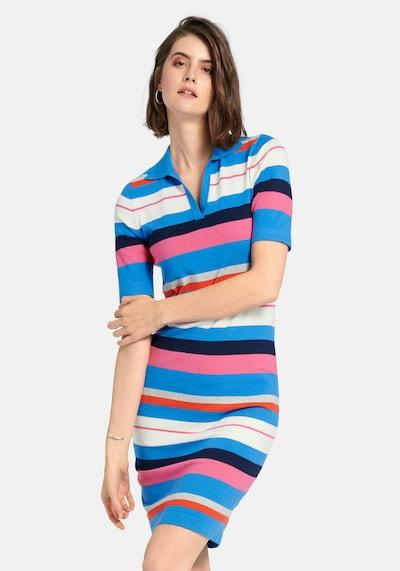 Looxent Strickkleid in blau / mischfarben, Modelansicht