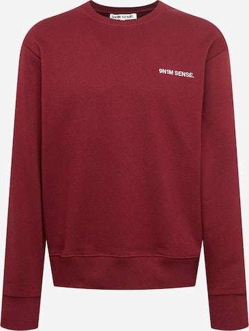 9N1M SENSE Sweatshirt in Rot